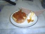 Torta maçã com pomo de ouro (chocolate).