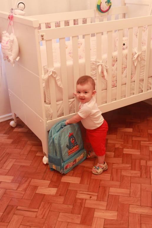 A mochila da Galinha Pintadinha fez um sucesso!