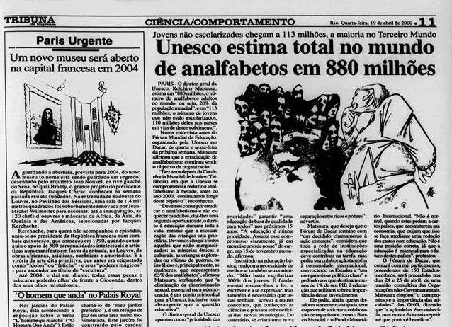 Tribuna da Imprensa 19/04/2000