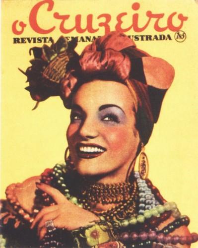 Revista de 1940 - Carmem Miranda (capa)