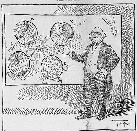 Imagem do jornal O Paiz - 1910 - Coemta Halley