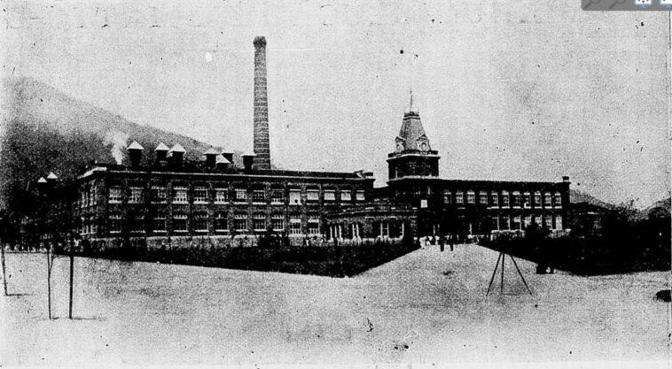 Fachada da Fábrica de Tecidos Bangu - Revista da Semana 11/11/1906