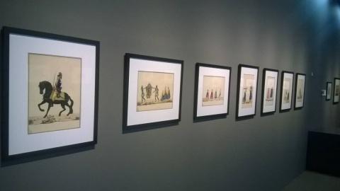 """Obras expostas no Centro Cultural Correios. Exposição: """"A muito Leal e Heróica Cidade do Rio de Janeiro""""."""