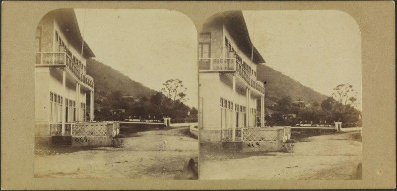 Tijuca [Iconográfico] : Largo da Boa Vista - Klumb, Revert Henrique, fl. 1855-1880 - Coleção Thereza Christina Maria – Acervo BNDigital.