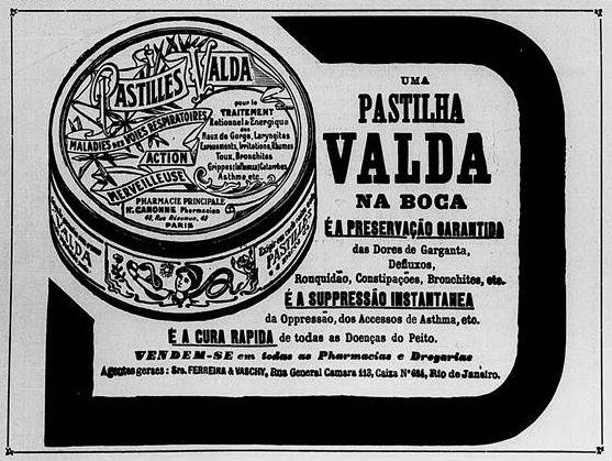 pastilhas valda junho 1921