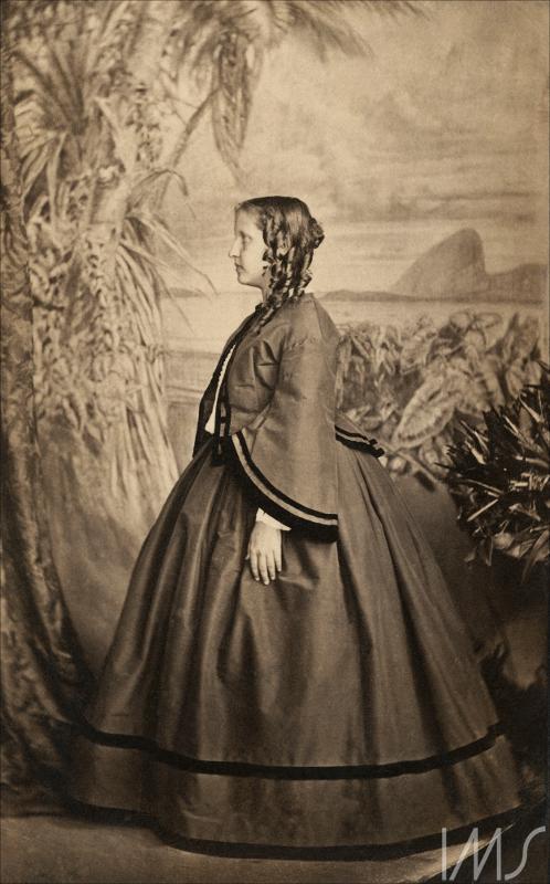 Princesa Isabel menina Pacheco, Joaquim Insley -  1863