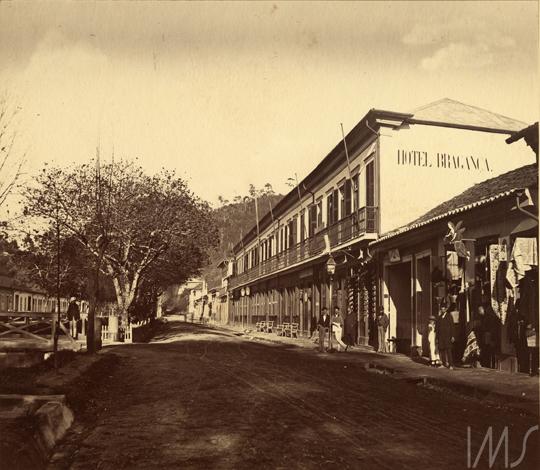 Revert Henrique Klumb. Hotel Bragança, c. 1874. Petrópolis, RJ / Acervo IMS