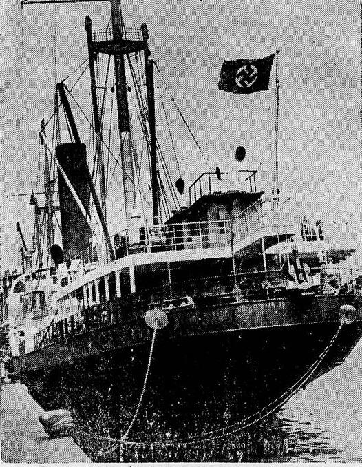 Foto do Wakama - Jornal da Noite 13/02/1940