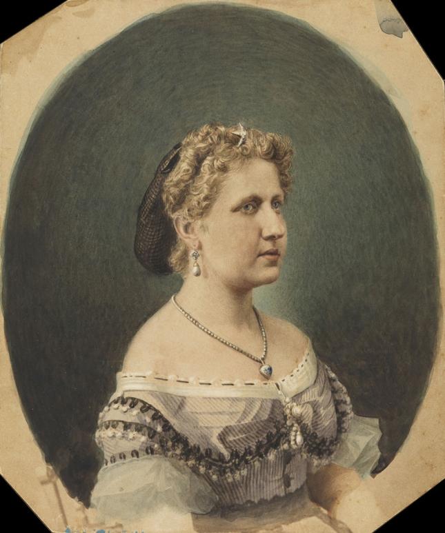 J. Cortois. Isabel, Princesa do Brasil [Iconográfico] / Acervo FBN
