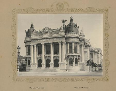 Musso, Luiz Theatro Municipal - [Rio de Janeiro] : [s.n.], [191-].