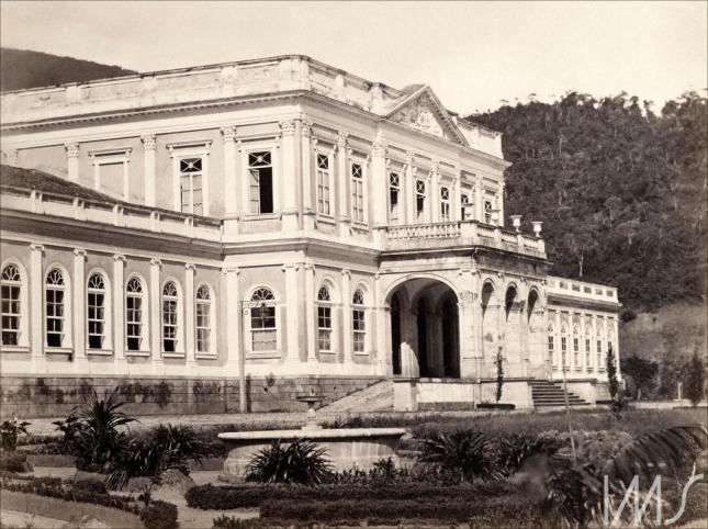 Revert Henrique Klumb. Palácio Imperial, c. 1860. Petrópolis, Rio de Janeiro / Acervo IMS