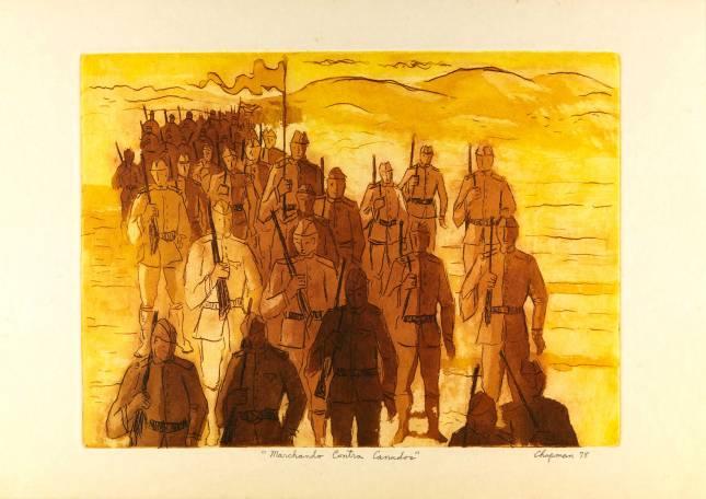 Marchando contra Canudos [Iconográfico] Chapman, Grover. 1978.